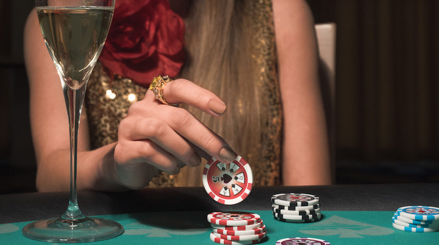 Jetoane casino, poker, petrecere de firma